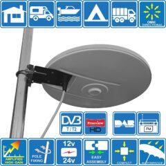 Meilleures antennes TNT pour camion : comparatif et guide d'achat